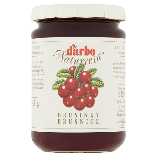 d'arbo Cranberries 450 g
