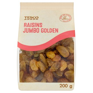 Tesco Raisins Jumbo Golden 200 g