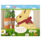 Lindt Gold Bunny dutá figúrka z mliečnej čokolády a mliečna čokoláda 3 ks 140,5 g