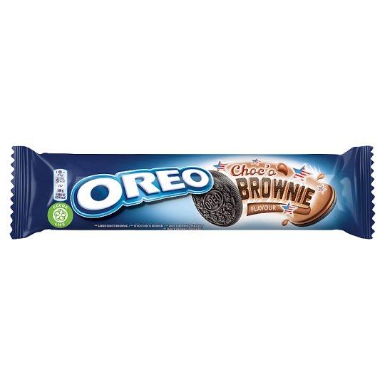 Oreo Choc'o Brownie kakaové sušienky s kakaovou náplňou 154 g