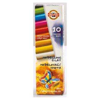 KOH-I-NOOR Plastelína 10 farieb