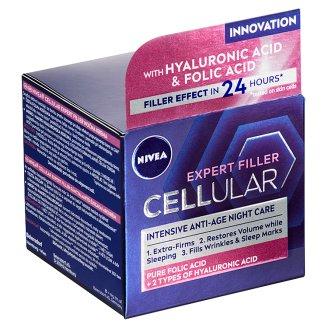 Nivea Hyaluron Cellular Filler Spevňujúci nočný krém 50 ml