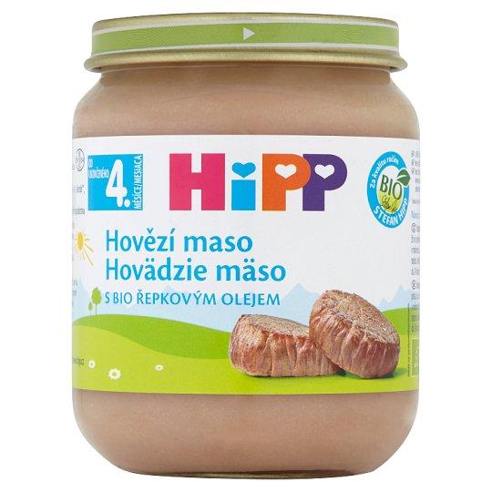 HiPP Bio hovädzie mäso pyré 125 g