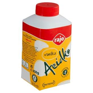 Rajo Acidko Zakysané mlieko vanilka 450 g