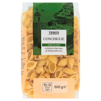 Tesco Italian Conchiglie Classic Dried Semolina Pasta 500 g
