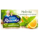 Babička Růženka Lemon Balm with Orange Peel Fruity Herbal Tea 20 x 2 g