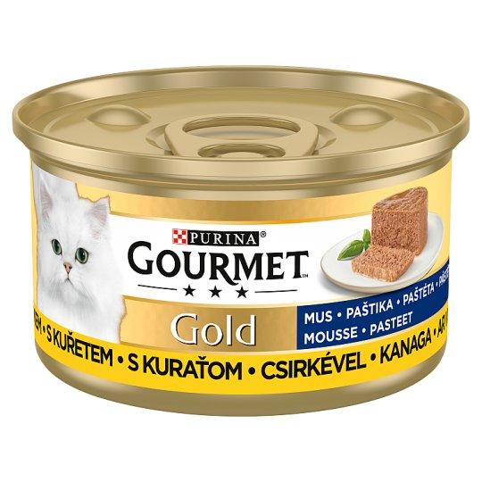 GOURMET Gold paštéta s kuraťom 85 g