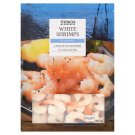 Tesco White Shrimps Peeled, Glazed, Blanched, with Tail 31-40 pcs 400 g