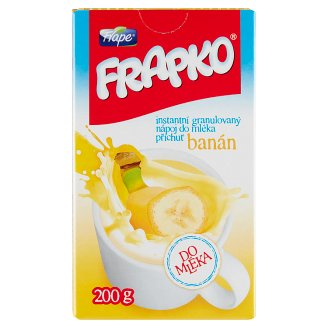 Frape Frapko Instant Granulated Drink in Powder with Milk Banana Flavour 200 g