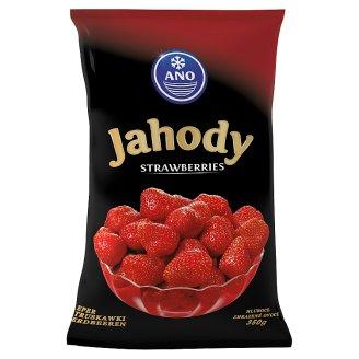ANO Strawberries Deep-Frozen 350 g