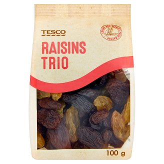 Tesco Raisins Trio 100 g