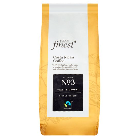 Tesco Finest Costa Rican Roasted Ground Coffee 227 g