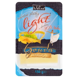 Melina Gouda Light 30% plátky 150 g