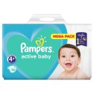 Pampers Active Baby Size 4+, 96 Nappies, 10-15kg