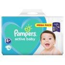 Pampers Active Baby Veľ. 4+, 96 Plienok, 10-5 kg