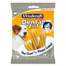 Vitakraft Dental 2in1 Sticks for Teeth Cleaning for Dogs 7 pcs 120 g