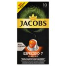 JACOBS Espresso Classico Intz. 7 - 10 Alu Pockets Compatible with Coffee Maker Nespresso® disc.