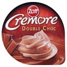 Zott Cremore Double Choc Chocolate Dessert  with Whipped Cream with Chocolate Flavour 200 g