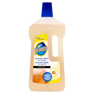 Pronto Extra Care Soap Cleaner Wood with Almond Oil 750 ml
