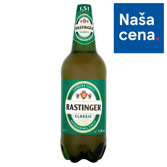 Rastinger Classic Light Draft Beer 1.5 L