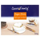 Sweet Family Cane Sugar Unrefined Sugar Sticks 100 x 5 g
