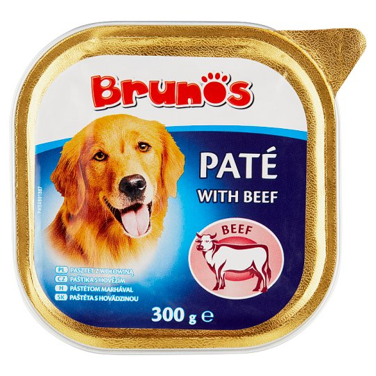 Brunos Paté with Beef 300 g