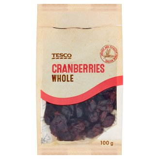 Tesco Cranberries Whole 100 g