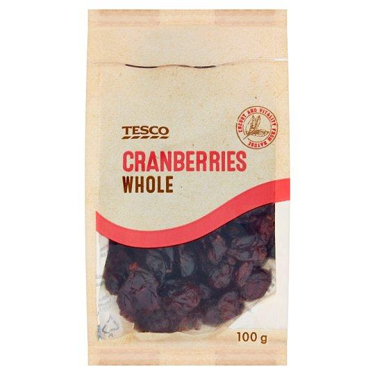 Tesco Cranberries Whole 100 g