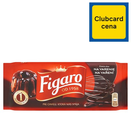 Figaro Dark Baking Chocolate 100 g
