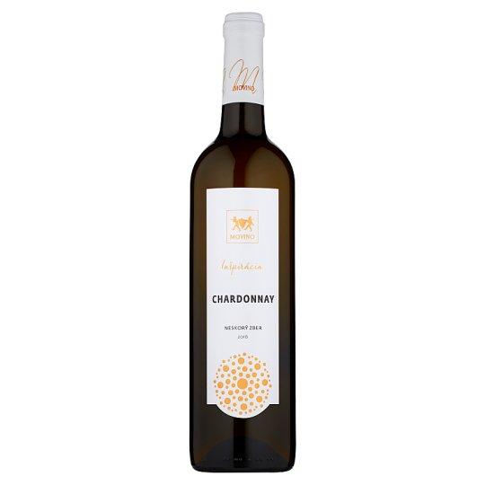 Movino Inšpirácia Chardonnay Late Harvest Dry White Wine 0.75 L