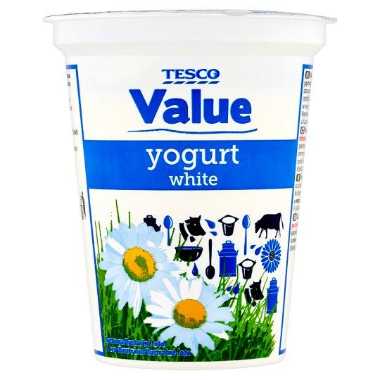 Tesco Value White Yogurt 330 g