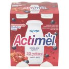 Danone Actimel Yoghurt Milk with Blueberries, Pomegranate and Maca 4 x 100 g