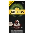 JACOBS Espresso Intenso Intz. 10 - 10 Alu Pockets Compatible with Coffee Maker Nespresso® disc.
