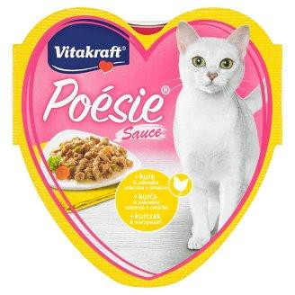 Vitakraft Poésie Sauce + Chicken & Garden Vegetables in Sauce 85 g
