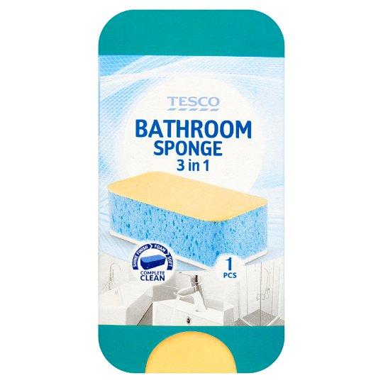 Tesco Špongia na umývanie kúpeľní 3 v 1 1 ks