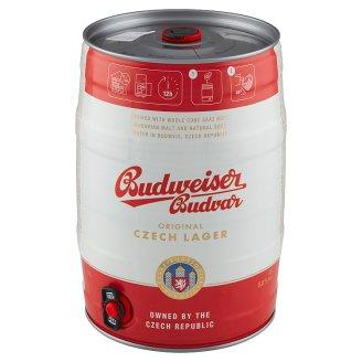 Budweiser Budvar B: Original Beer Lager Keg 5 L