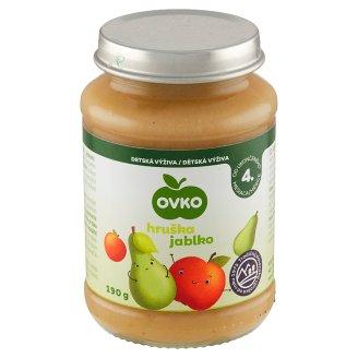 Ovko Pear with Apple Infant Formula 190 g