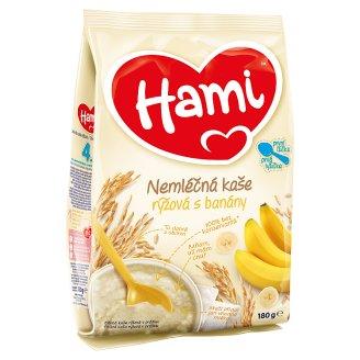 Hami Kaša ryžová nemliečna s banánmi 180 g