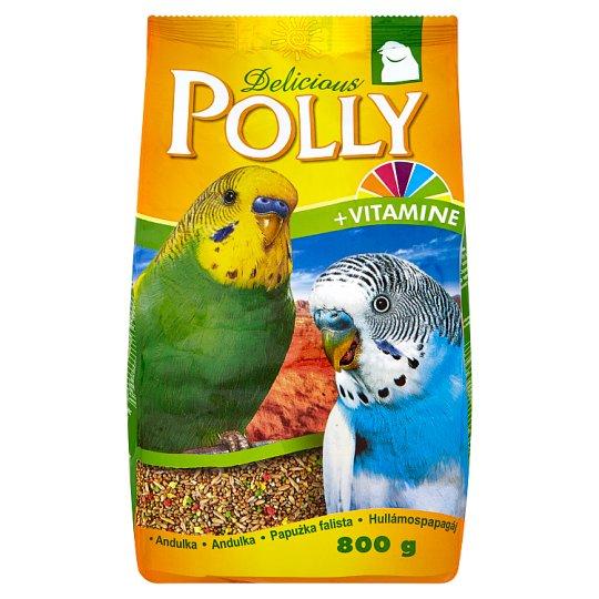 Polly Delicious kompletné krmivo pre andulky 800 g