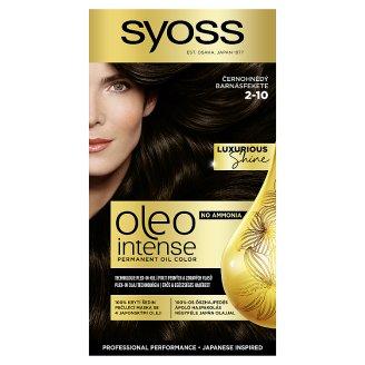 Syoss Oleo Intense farba na vlasy Čiernohnedý 2-10