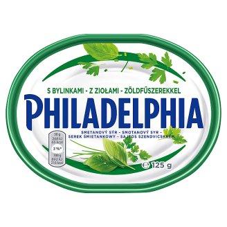 Philadelphia Original smotanový syr s bylinkami 125 g