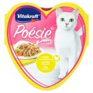 Vitakraft Poésie Sauce + Chicken and Garden Vegetables in The Sauce 85 g