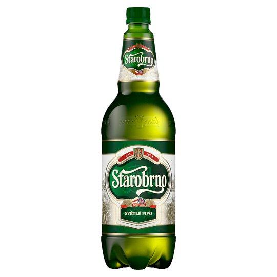 Starobrno 10 % svetlé výčapné pivo 1,5 l