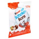 Kinder Schoko Bons Milk Chocolate Candies with Milk and Hazelnut Filling 125 g