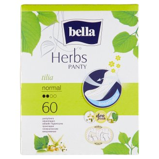 Bella Herbs Tilia Breathable Pantyliners 60 pcs