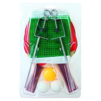 Stolný tenis sada 2 rakety lopty sieť