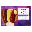 Tesco Mini Mix Ice-Cream 8 x 50 ml