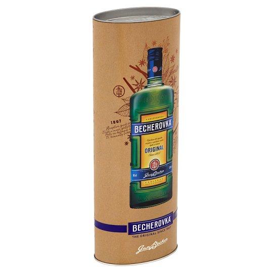 Becherovka Original Bylinný likér v plechovom puzdre 700 ml