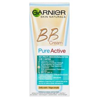 Garnier Skin Naturals Pure Active BB Cream 5v1 krém proti nedokonalostiam svetlý odtieň 50 ml