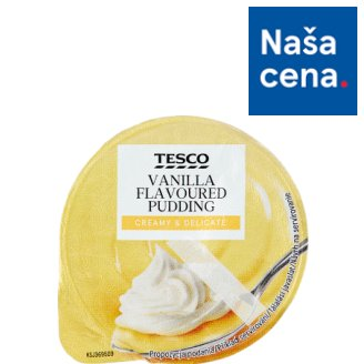 Tesco Vanilla Flavoured Pudding 175 g